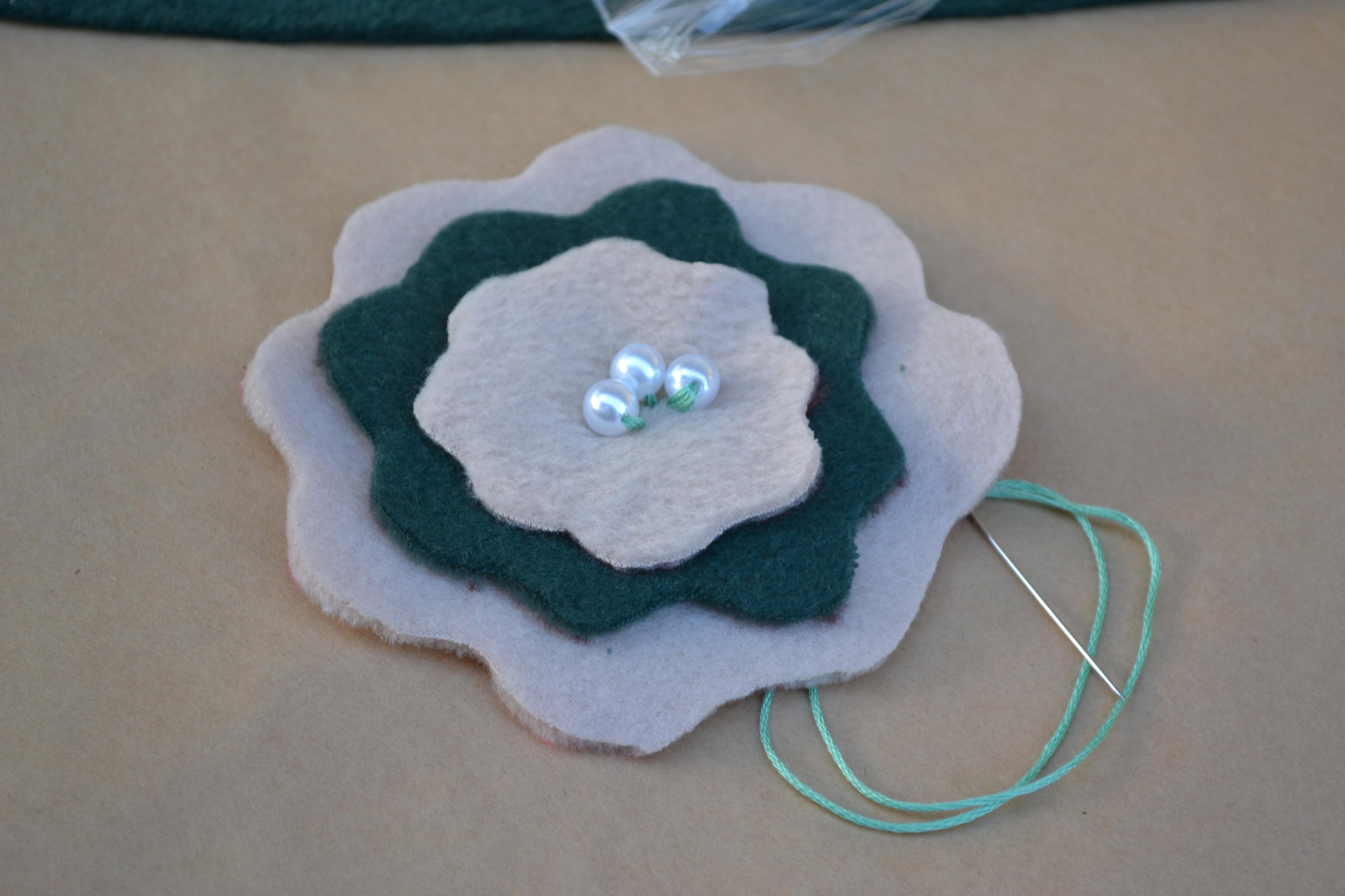 Diy Fleece Flower Craftistas