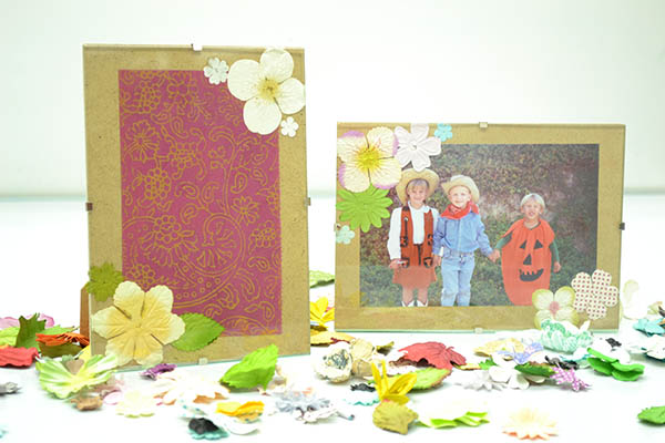 Craftistas DIY craft kit pressed flower frame