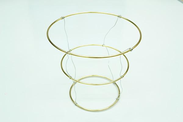April unwrapped april showers paper chandelier craftistas - Diy chandelier kit ...