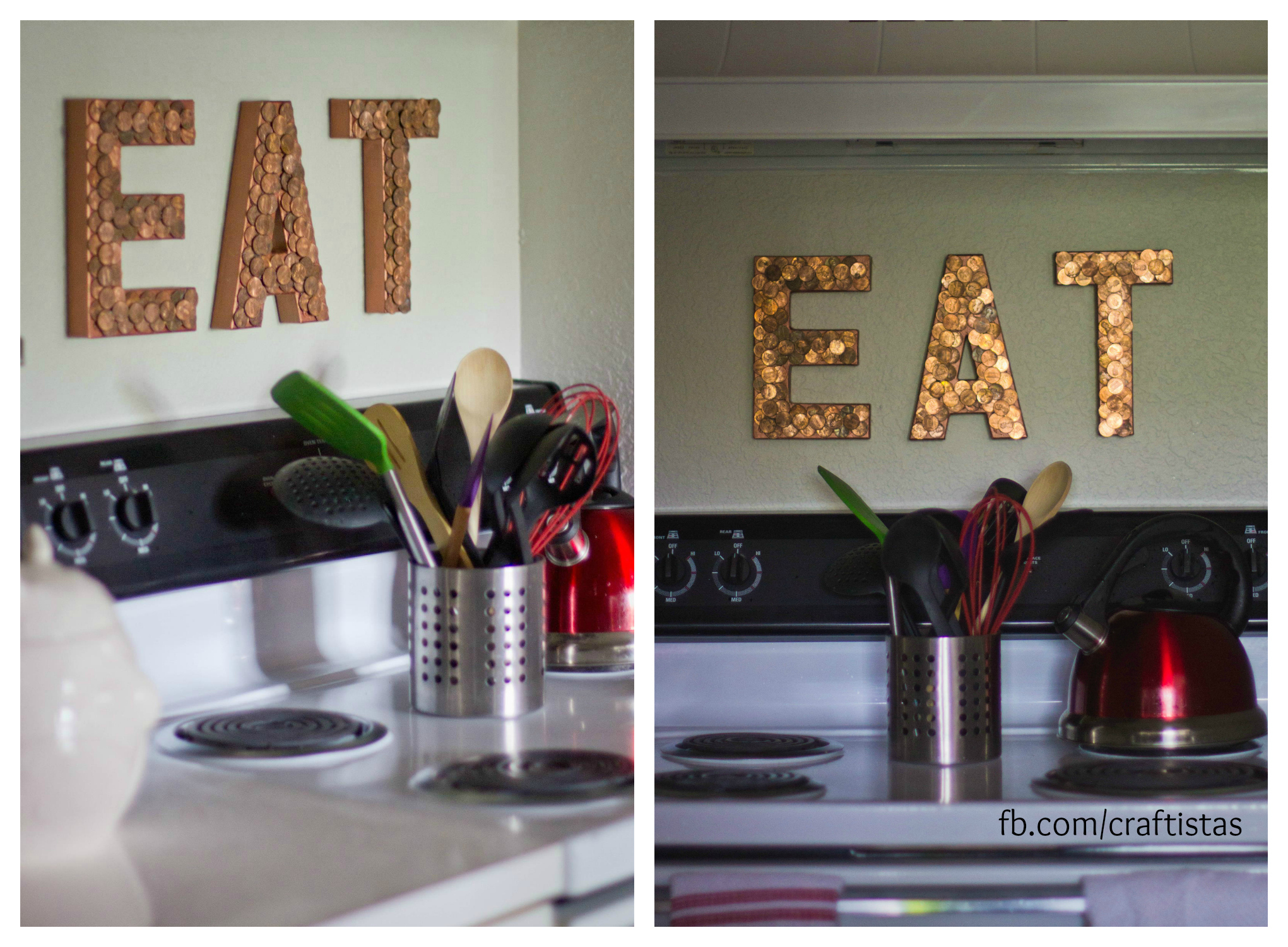 Weekend diy crafting roundup craftistas for Home decor kitchen