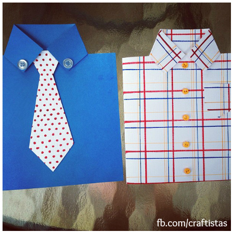 Fantastic DIY Tie Cards