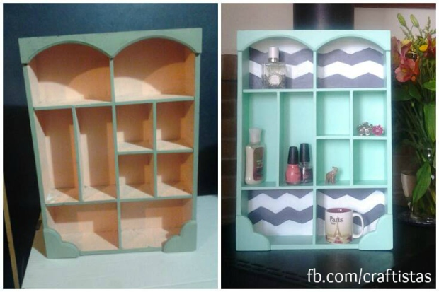 Kira DIY Upcycled Shelf