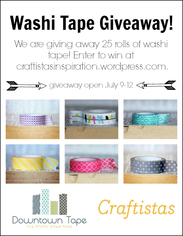 Washi Tape Giveaway Poster