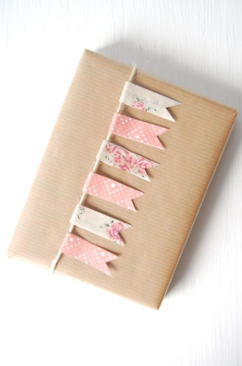 Decorar regalos con washi tape artcreatiu Ideas para decorar con washi tape