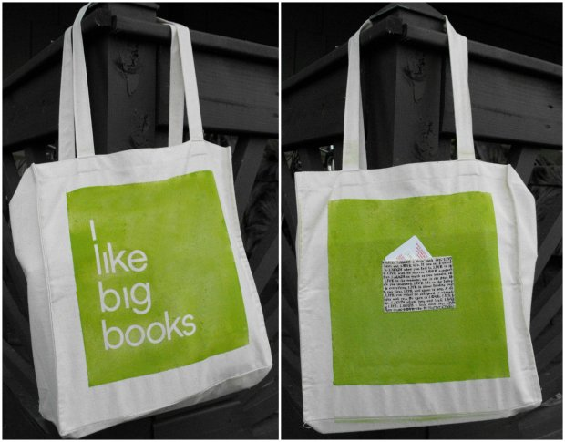 Big Books Canvas Bag