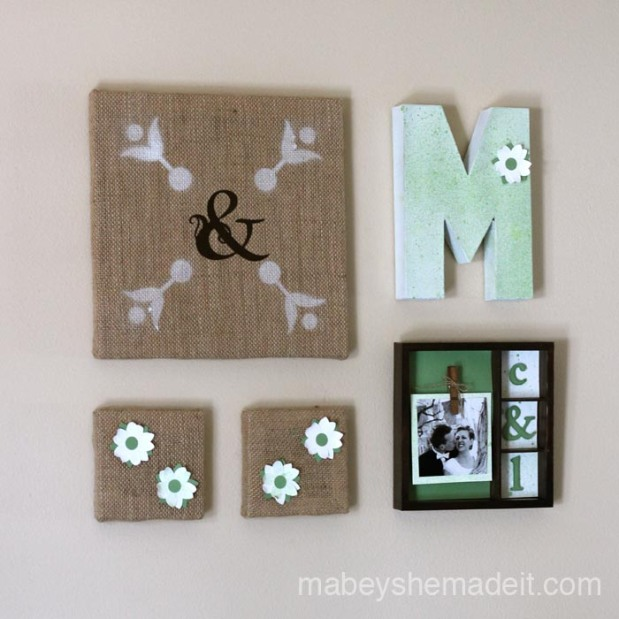 Burlap Canvas Decor10